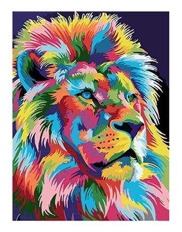 מספר וצבע – פרופיל אריה