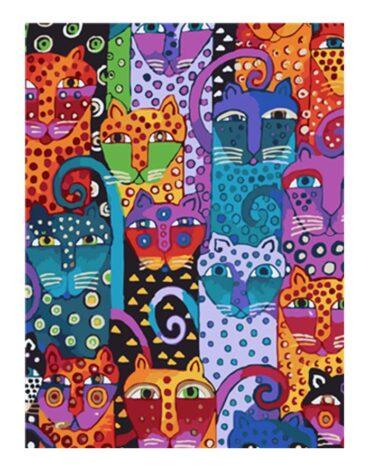 מספר וצבע – חתולים מנוקדים