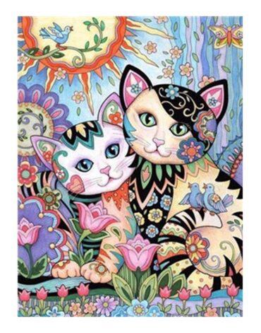 מספר וצבע – חתולים