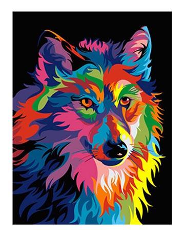 מספר וצבע – זאב