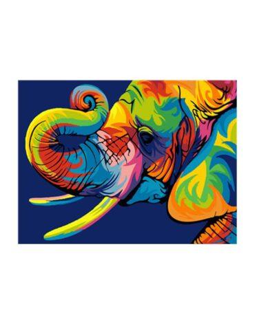 מספר וצבע – פיל
