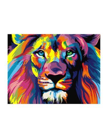 מספר וצבע – אריה
