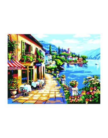 מספר וצבע – מסעדה מול הים