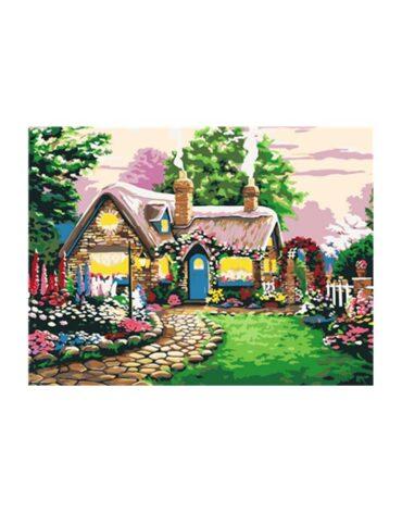 מספר וצבע – בית בכפר