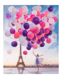מספר וצבע – בלונים בפריז