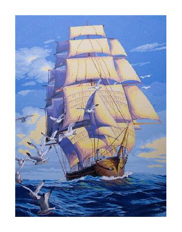 מספר וצבע – סירה