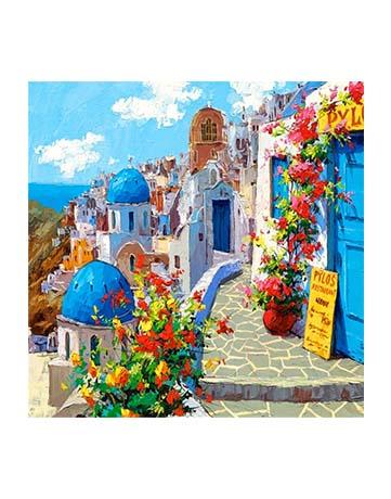 מספר וצבע – יוון