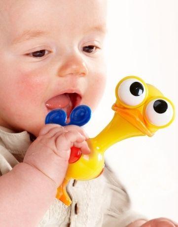 אפרוח עיניים זזות משחק פעוטות תינוקות משחק התפתחות נשכן לתינוק