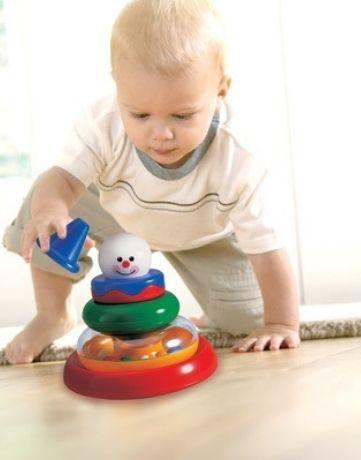 מגדל פעילות ליצן אגם ספרים טולו משחקים תינוקות